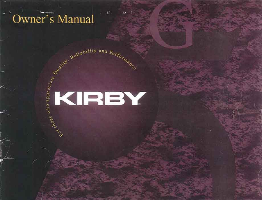 Download the Kirby G5 Owner Manual.